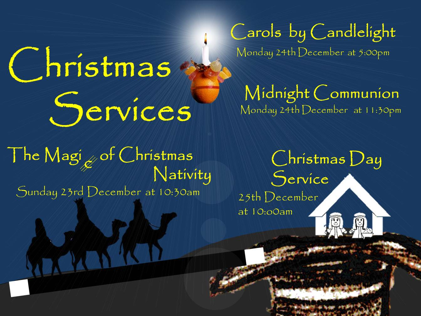 Nativity Service: The Junior Church and Rev Matthew Fugill @ Beeston | United Kingdom