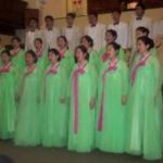 A Korean choir in concert