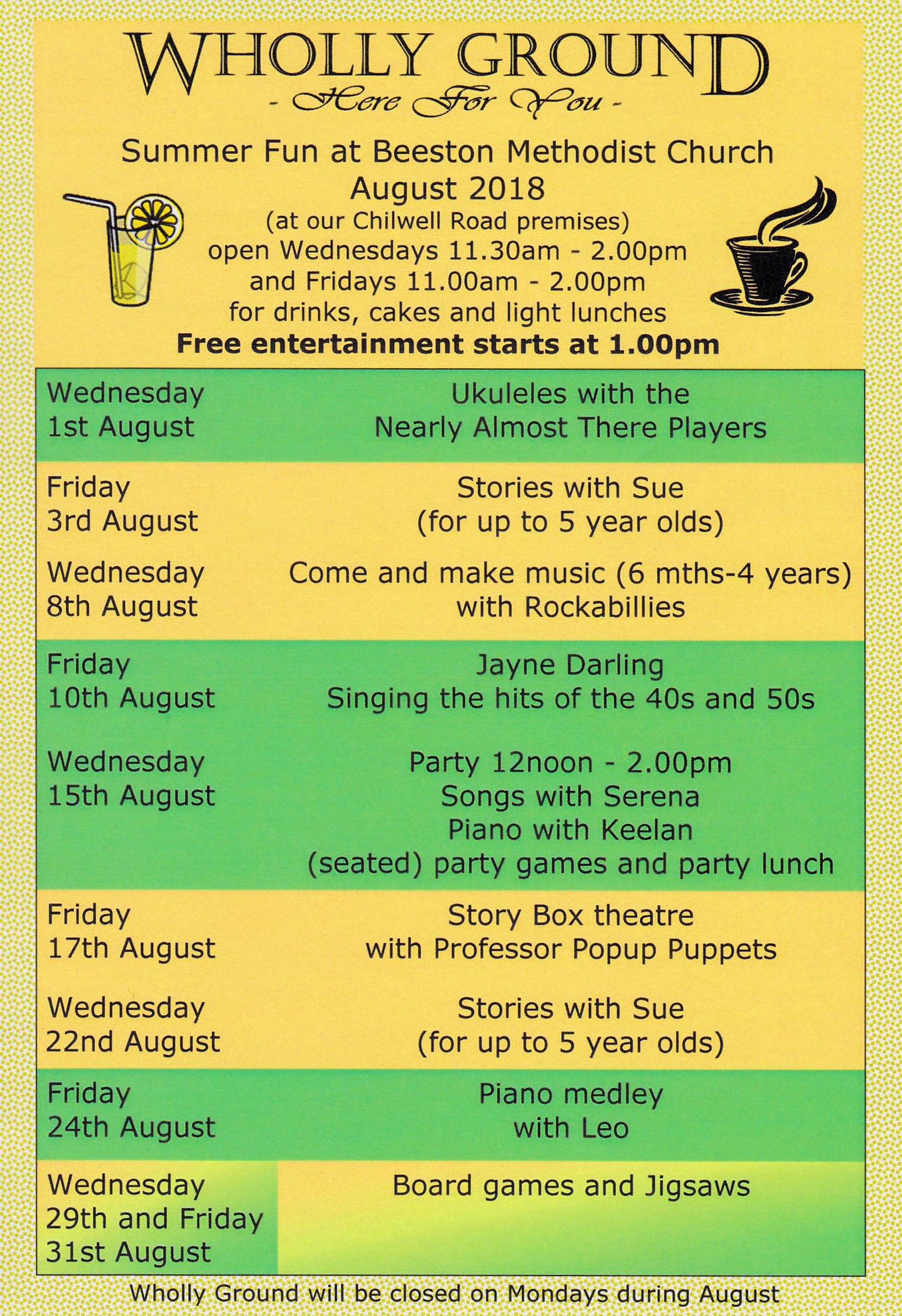 summer programme