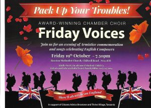 'Pack Up Your Troubles' - Friday Voices @ Beeston Methodist Church at Chilwell Road | Beeston | England | United Kingdom