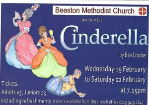Cinderella by Ben Crocker @ Beeston Methodist Church